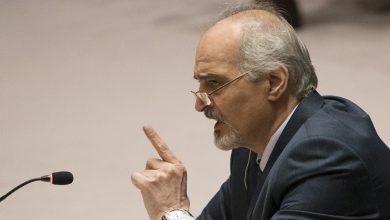 صورة الجعفري حول دور مجلس الأمن: سورية عايشت على مدى عقود إخفاقات المجلس في التعامل مع الكثير من المسائل التي تهدد السلم الدولي