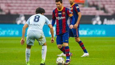 صورة برشلونة يواصل نزيف النقاط.. وميسي يحقق رقما جديدا
