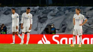 صورة ريال مدريد مهدد بالخروج من الدور الأول للشامبيونزليغ