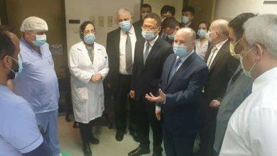 صورة وزير التعليم العالي والسفير الصيني بدمشق يزوران 3 مشافي جامعية