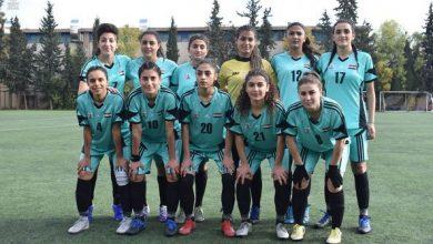 صورة الخابور ومحافظة حمص في صدارة ذهاب دوري سيدات كرة القدم