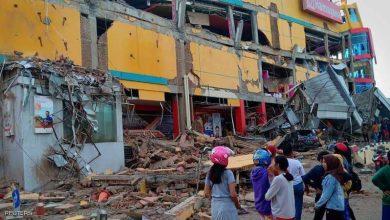 صورة عشرات القتلى ومئات الجرحى في زلزال أندونيسيا