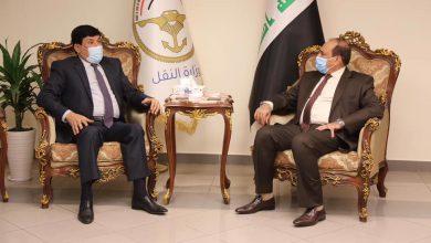 صورة مباحثات سورية عراقية في مجالات النقل والربط السككي