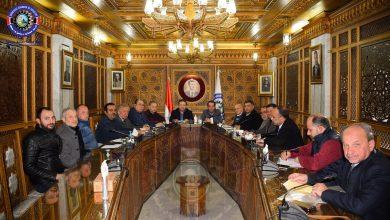 صورة تمخض عن الاجتماع تسمية رئيس لجنة للبلاستيك