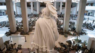 صورة الكونغرس يتحول إلى ثكنة عسكرية بانتظار يوم التنصيب