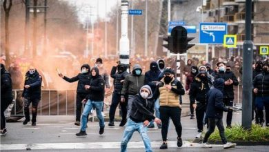 صورة بسبب كورونا.. تجدد الاشتباكات في هولندا