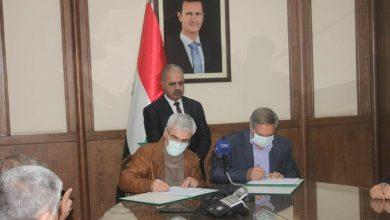 صورة وزير الكهرباء يعلن المباشرة بإعادة تأهيل المجموعتين الأولى والخامسة في محطة توليد حلب الحرارية