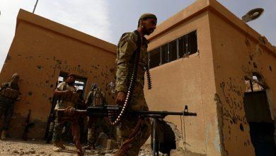 """صورة مقتل 3 من عناصر """"قسد"""" وإصابة آخرين بهجمات لمجهولين على آلياتهم ومواقعهم"""