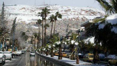 صورة تجدد الفعالية الجوية وثلوج متوقعة على دمشق