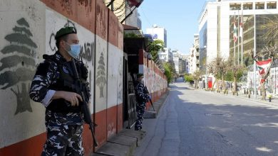 صورة إغلاق عام في لبنان حتى نهاية الشهر الجاري