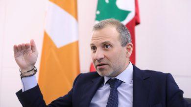 صورة باسيل: العلاقة القوية مع سورية تصب في مصلحة لبنان