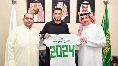 صورة عمر السومة يجدد عقده مع الأهلي السعودي حتى 2024