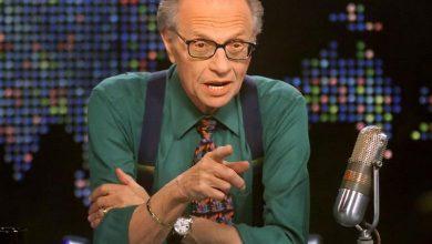 صورة وفاة مقدم البرامج الحوارية الشهير لاري كينغ