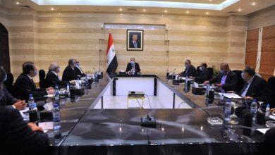 صورة عرنوس يبحث مع مجلس إدارة غرفة التجارة السورية الإيرانية تعزيز العلاقات الاقتصادية وزيادة التبادل التجاري