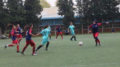 صورة احتجاج وانسحاب بدوري السيدات لكرة القدم
