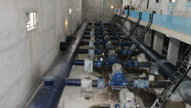 """صورة """"مياه الحسكة"""": ورشات الصيانة تعمل على تشغيل جميع الآبار في محطة علوك"""