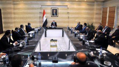 صورة عرنوس يلتقي مجلس إدارة غرفة تجارة ريف دمشق: لاستنهاض المسؤولية الاجتماعية لدى مختلف الفعاليات الاقتصادية والتجارية