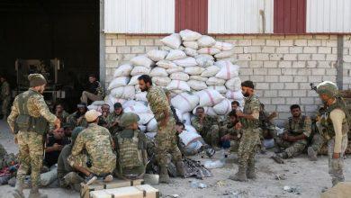 """صورة اشتباكات عنيفة بين الميليشيات المسلحة في """"رأس العين"""" المحتلة بسبب فتاة"""
