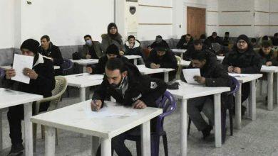 صورة 1100 متقدم لامتحانات مسابقة المسرحين بجامعة حماة