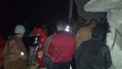 صورة استشهاد عائلة وإصابة أخرى نتيجة العدوان الإسرائيلي على حماة (صور)