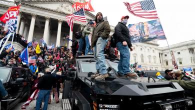 صورة بعد التحذيرات من احتجاجات مسلحة.. ترامب يوافق على إعلان حالة الطوارئ في واشنطن