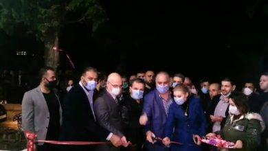 صورة بحضور وزير التجارة الداخلية.. افتتاح صالتين للسورية للتجارة في اللاذقية