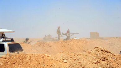 صورة الجيش يؤمن طريق دير الزور – تدمر بشكل كامل ويقضي على 8 إرهابيين ممن نفذوا هجوم الحافلات