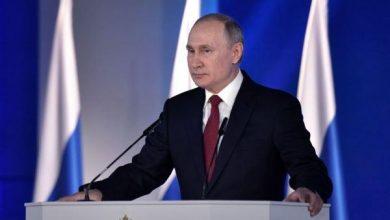 صورة بوتين: مكافحة الإرهاب مستمرة في سورية