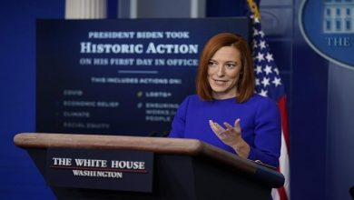 صورة البيت الأبيض يلوح بالتهديد ضد إيران
