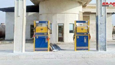 صورة محطتا وقود بالخدمة لتغطية احتياجات إرواء محصول القمح في إدلب.. و3 محطات أخرى خلال الأيام القادمة