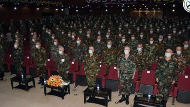 صورة برعاية الرئيس الأسد.. الاحتفال بتخريج الدورة الخامسة والثلاثين (قيادة وأركان)