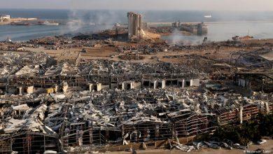 صورة وزير الأشغال اللبناني: 52 حاوية للمواد الخطرة بمرفأ بيروت