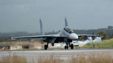 صورة الدفاع الروسية: دفاعات مركز حميميم باللاذقية تتصدى لهجوم صاروخي نفذه إرهابيون