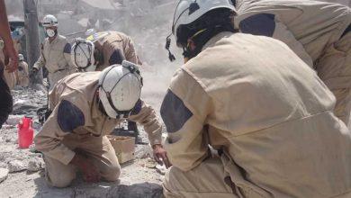 """صورة الدفاع الروسية: إرهابيو """"النصرة"""" و""""الخوذ البيضاء"""" يحضرون لاستفزاز في إدلب"""