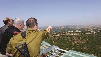 """صورة نتنياهو حول """"الجولان المحتل"""": لن نعيده بتسوية سياسية أو من دونها"""