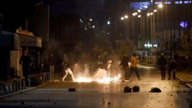 صورة قتيل وجرحى في اشتباكات ليلية بالقذائف في ضاحية بيروت (فيديو)