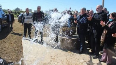 صورة بكلفة تتجاوز 900 مليون ليرة تدشين ٤ آبار لمياه الشرب بالسويداء