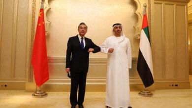 صورة وانغ يي من الإمارات: نأمل أن تستكشف دول المنطقة إطاراً أمنياً يلبي الحاجات الإقليمية
