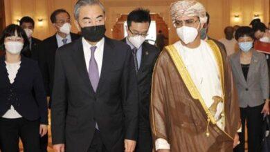 صورة وزير خارجية الصين من مسقط: ندعو للمساواة بين جميع الدول مهما كان حجمها