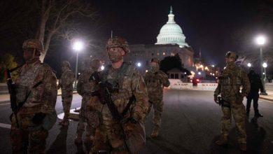 صورة واشنطن ما تزال خائفة من أنصار ترامب