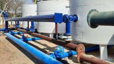 صورة تشغيل 66 محطة مياه في دير الزور