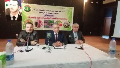 صورة اطلاق برنامج دعم المنتج الريفي السوري وتسويقه من اللاذقية.. وزير الزراعة: يستهدف 82 قرية في 3 محافظات لتحسين المستوى المعيشي