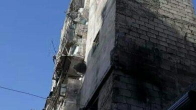 صورة استشهاد مدنيين اثنين جراء قذائف الإرهابيين على حيي الفردوس والصالحية بحلب