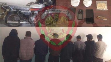صورة القبض على عصابتين تمتهنان نشل الجوالات والإتجار بالمخدرات في دير الزور