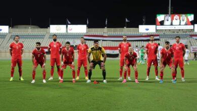 صورة منتخب سورية يلتقي البحرين