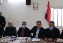 صورة محافظ حماة يوجه مديري الدوائر الخدمية بالاستجابة السريعة لمطالب أهالي ريف سلمية الشرقي المحرر