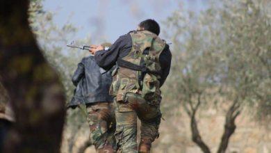 """صورة مقتل عنصر من ميليشيا """"الجيش الوطني"""" في اشتباكات مع ميليشيا """"قسد"""" شمال حلب"""