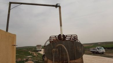صورة محطة جديدة لمياه الشرب في ادلب