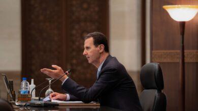 صورة الرئيس الأسد: المنطقة أو الفعالية أو النشاط الذي يحقق إنتاجا أكبر يجب أن يأخذ الجزء الأكبر من الدعم بالموارد