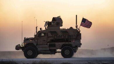 صورة للمرة الثانية خلال ساعات.. عبوة ناسفة تستهدف رتلا أمريكيا في العراق